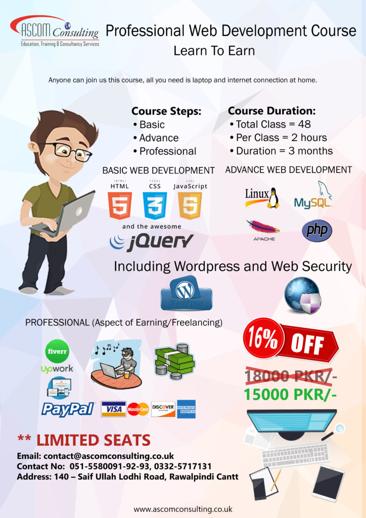 Professional Web Development Course Ascom Consulting Uk Ltd